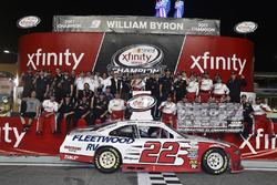 Team Penske celebrate winning the 2017 NASCAR Xfinity Series Owners Championship