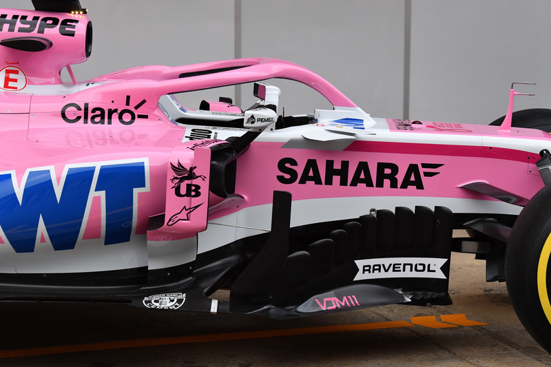 Sahara Force India VJM11 detail