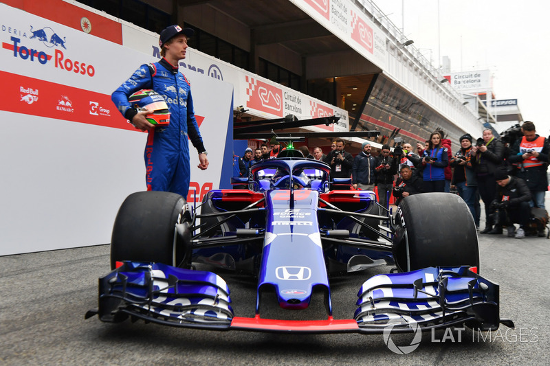 Brendon Hartley, Scuderia Toro Rosso, the new Scuderia Toro Rosso STR13