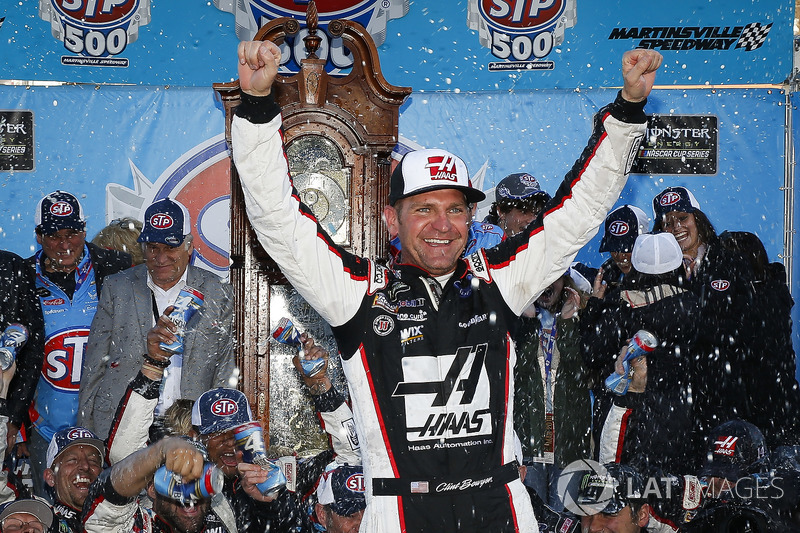 2018, Martinsville 1: Clint Bowyer (Stewart/Haas-Ford)
