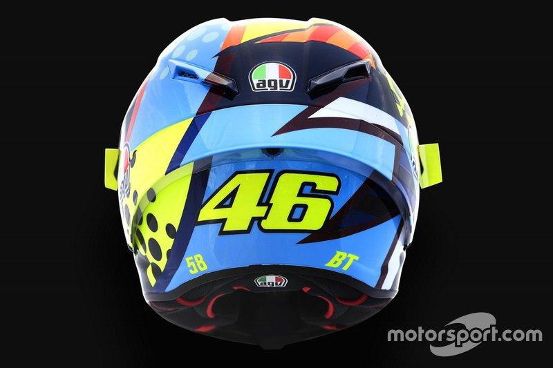Valentino Rossi Helmet design