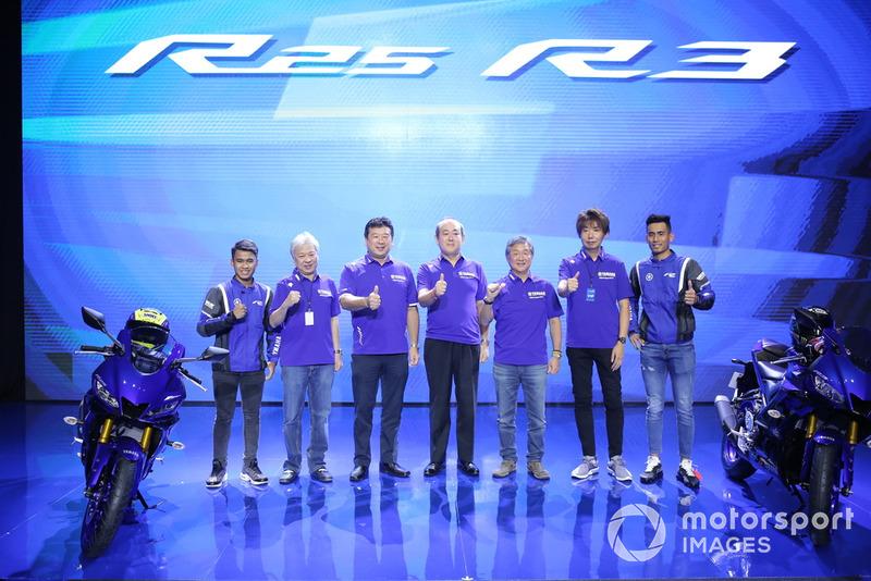 Peluncuran generasi terbaru Yamaha YZF-R25 dan YZF-R3
