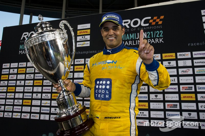 Campeón de Race of Champions 2017: Juan Pablo Montoya