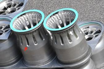 Mercedes F1 AMG Bare wheel rim
