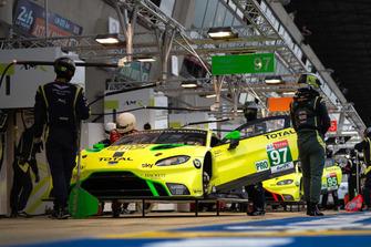 Aston Martin in Le Mans