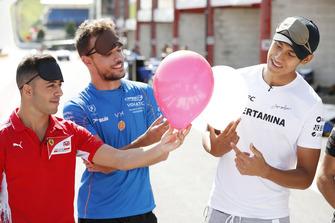 Luca Ghiotto, Campos Racing Antonio Fuoco, Charouz Racing System And Sean Gelael, PREMA Racing
