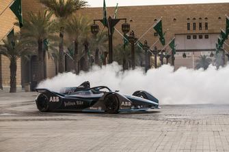 Felipe Massa in the Gen2 FIA Formula E car