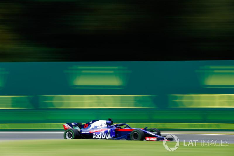 16. Brendon Hartley, Toro Rosso STR13