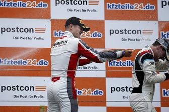 Podium: #99 Precote Herberth Motorsport Porsche 911 GT3 R: Mathieu Jaminet