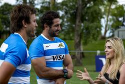 Jugadores de Rugby Juan Manuel Leguizamón y Juan Martín Hernández