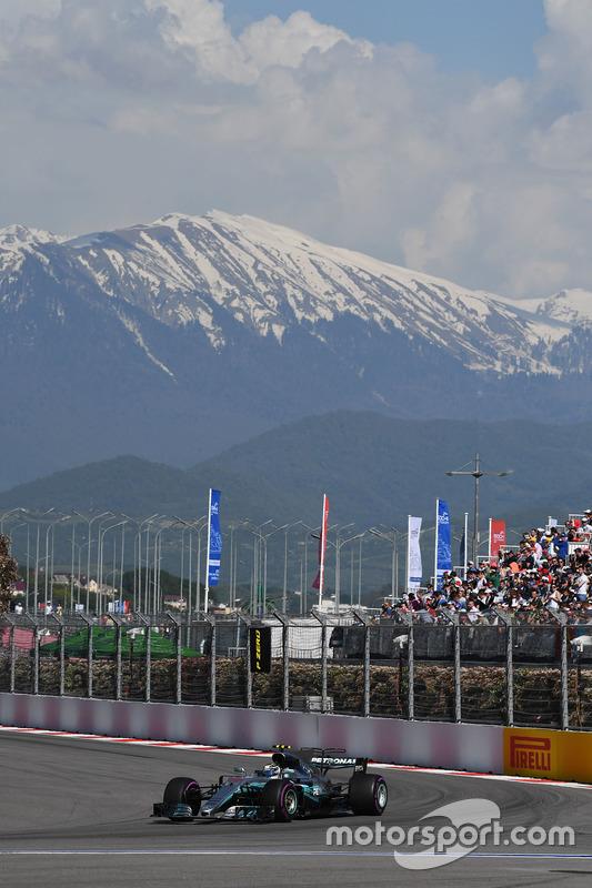 Rusya GP: Valtteri Bottas, Mercedes AMG F1 W08