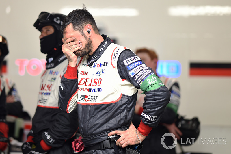Реакция команды Toyota Gazoo Racing на сход с дистанции №7