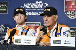 Ryan Blaney, Wood Brothers Racing Ford Conferencia de prensa develación del coche