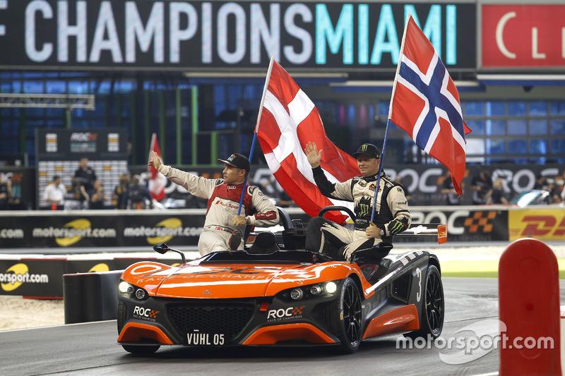 Tom Kristensen y Petter Solberg, Team Nordic