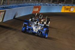 Simon Pagenaud, Team Penske Chevrolet leads Will Power, Team Penske Chevrolet