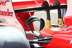 Ferrari SF70H detalle del monkey seat