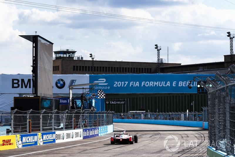 Sieg für Felix Rosenqvist, Mahindra Racing