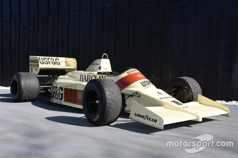 Construída para a temporada de 1986, a Arrows A9 foi pilotada por Thierry Boutsen nos GPs da Alemanha e Áustria e por Christian Danner na Hungria e está à venda por 730 mil reais