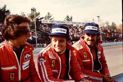 Luca Cordero di Montezemolo, Niki Lauda e Clay Regazzoni
