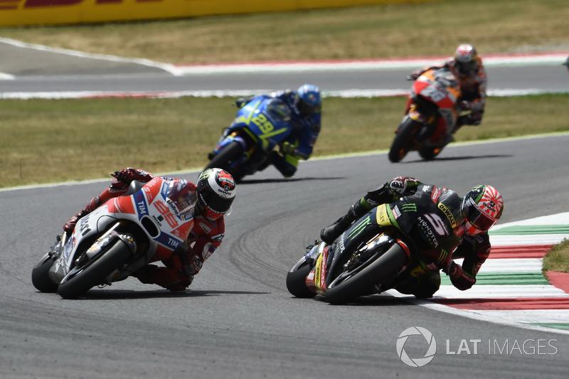 Жоанн Зарко, Monster Yamaha Tech 3, Хорхе Лоренсо, Ducati Team