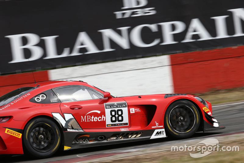 #88 Akka ASP, Mercedes AMG GT3: Felix Serralles, Daniel Juncadella