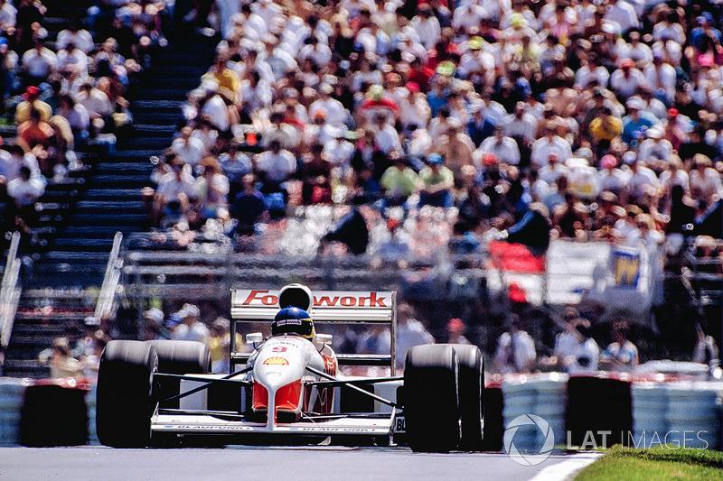 Michele Alboreto, Footwork FA12 Porsche
