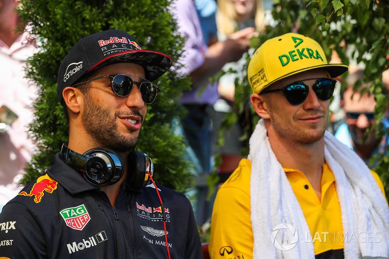 Даніель Ріккардо, Red Bull Racing, Ніко Хюлькенберг, Renault Sport F1 Team