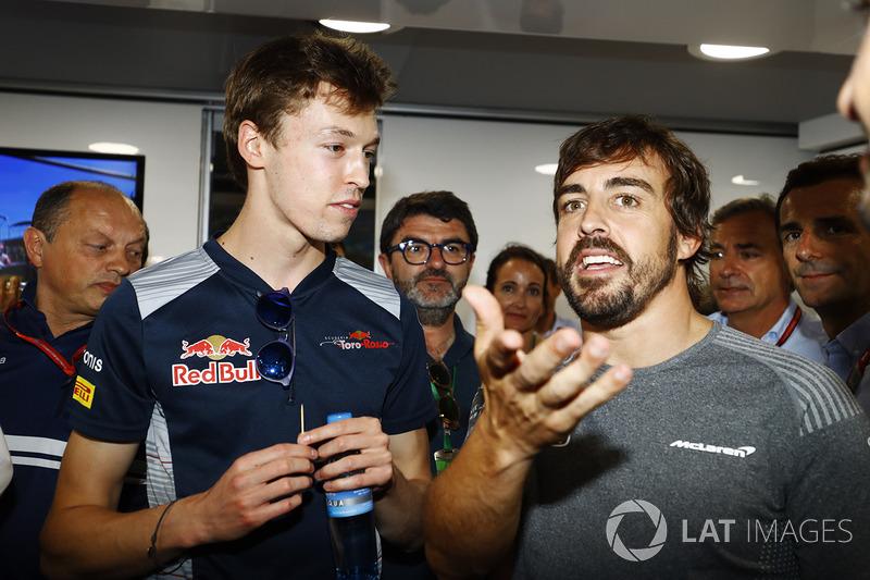En el cumpleaños 36 de Fernando Alonso, McLaren, Frederic Vasseur, director del equipo Sauber, Danii