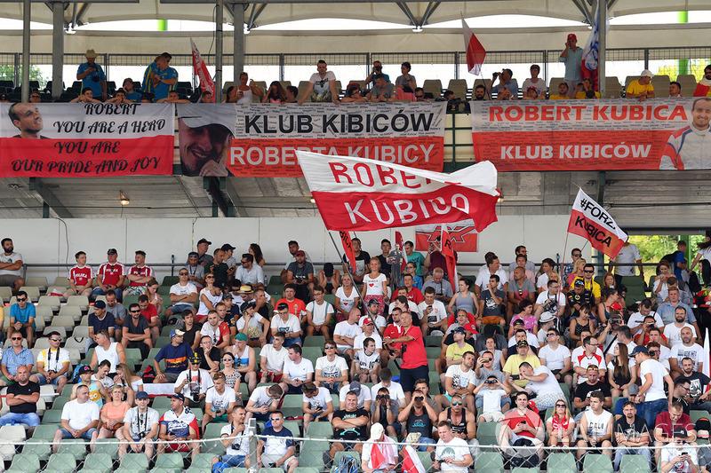 Robert Kubica, Renault Sport F1 Team RS17 fanları