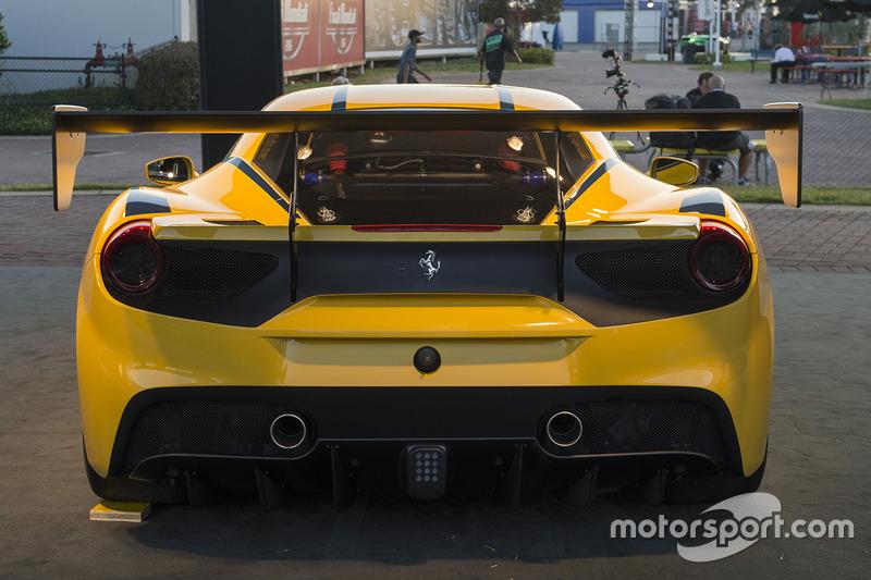 The Ferrari 488 Challenge