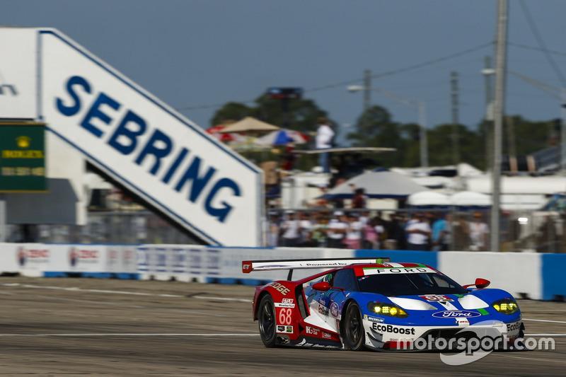 #68 Ford Performance Chip Ganassi Racing, Ford GT: Stefan Mücke, Olivier Pla, Billy Johnson