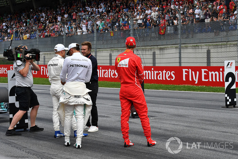 Давіде Вальсеккі, Sky Italia, Валттері Боттас, Mercedes AMG F1, Себастьян Феттель, Ferrari, Льюіс Хемілтон, Mercedes AMG F1