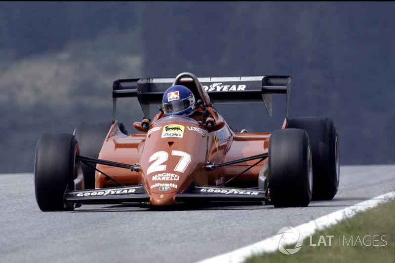 #17: Patrick Tambay, Ferrari 126C3, Kyalami 1983: 1:06,554