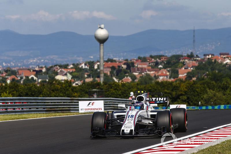 Ленс Стролл, Williams FW40