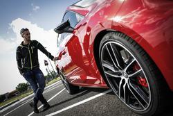 Andrea Dovizioso et sa SEAT Leon CUPRA