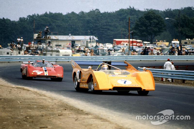 Пітер Ревсон, McLaren M8F-Chevrolet