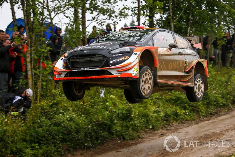 Mads Ostberg, Ola Floene, Ford Fiesta WRC