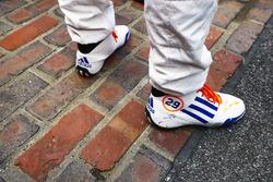 Fernando Alonso, Andretti Autosport Honda en la yarda de ladrillos