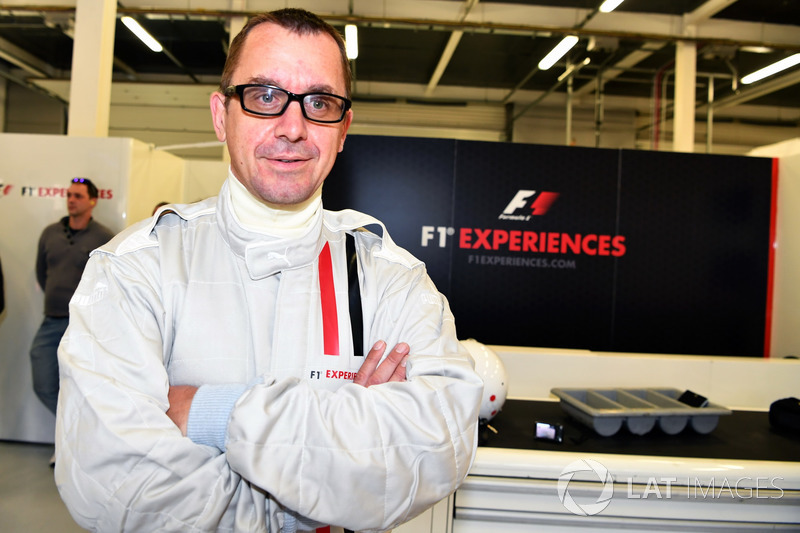 Jonathan Noble, Journalist F1 Experiences 2-Seater passenger