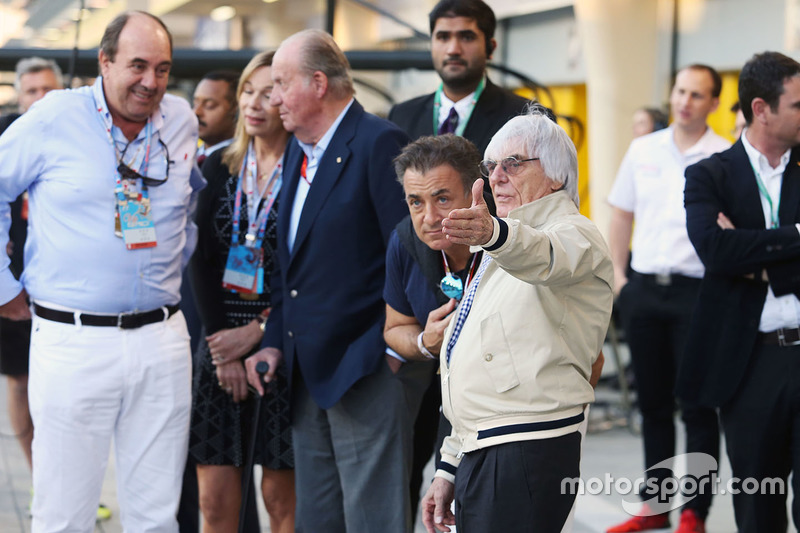 """""""No creo que tenemos que tener necesariamente un GP de Italia. Una vez alguien me dijo una cosa curiosa, que podría haber F1 sin una carrera en Francia. Pero tenemos F1 y no a Francia""""."""