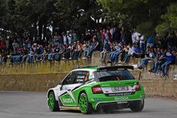 Umberto Scandola e Guido d'Amore, Skoda Fabia R5, Skoda Motor Sport Italia