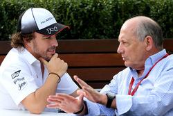 Fernando Alonso, McLaren and Ron Dennis, McLaren