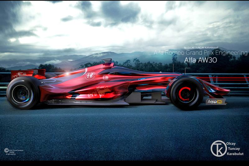 Designstudie für Alfa Romeo