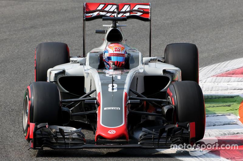 17. Romain Grosjean, Haas F1 Team (Startplatzstrafe)