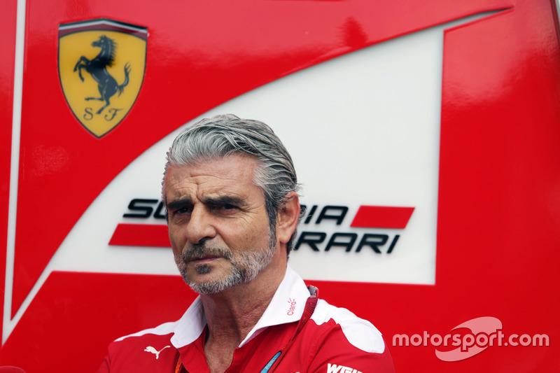Maurizio Arrivabene, Ferrari, Teamchef