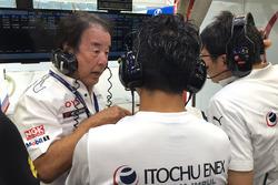 Кадзуёси Хосино, руководитель команды Team Impul