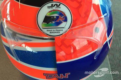 Indy-500-Helm von Stefan Wilson