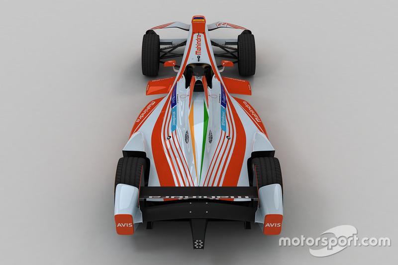 Nuova livrea Mahindra Racing