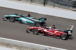 Dalton Kellett, Andretti Autosport, und Santiago Urrutia, Schmidt Peterson Motorsports