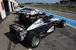 McLaren MP4-16, Lotus F1, William F1, Porsche 956, Ford Grand Am, Porsche